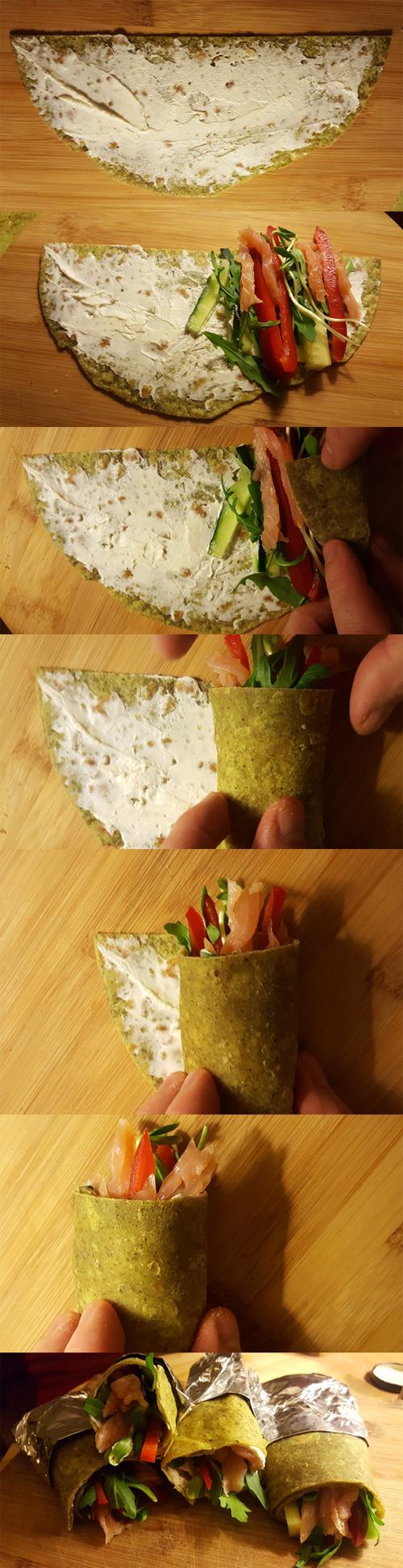 jak zwijać tortille