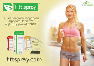 Fitt Spray - innowacyjny bloker apetytu | kielkismaku.pl