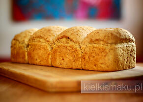 Czworaczek - chleb pszenno-żytni | kielkismaku.pl
