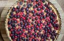 Tarta budyniowa z owocami (Thermomix)