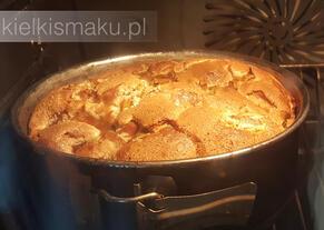 Różane ciasto ucierane z owocami | kielkismaku.pl