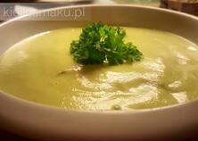 Chrzanowa zupa krem z awokado i pulpecikami | kielkismaku.pl