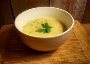 Zupa krem z krewetek | kielkismaku.pl