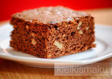 Klasyczne brownie z orzechami | kielkismaku.pl