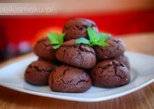 Ciasteczka czekoladowe z nutą mięty | kielkismaku.pl